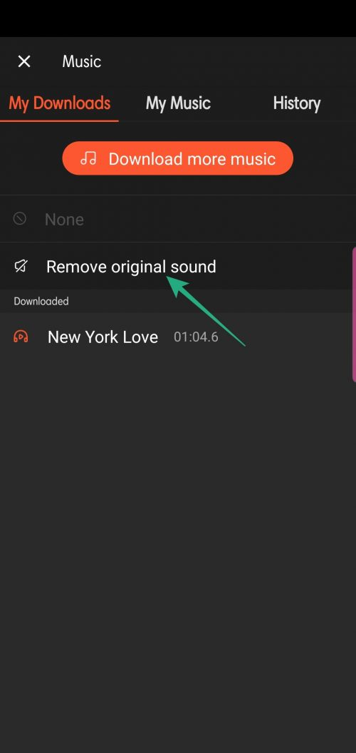 How to remove audio from your videos on Android