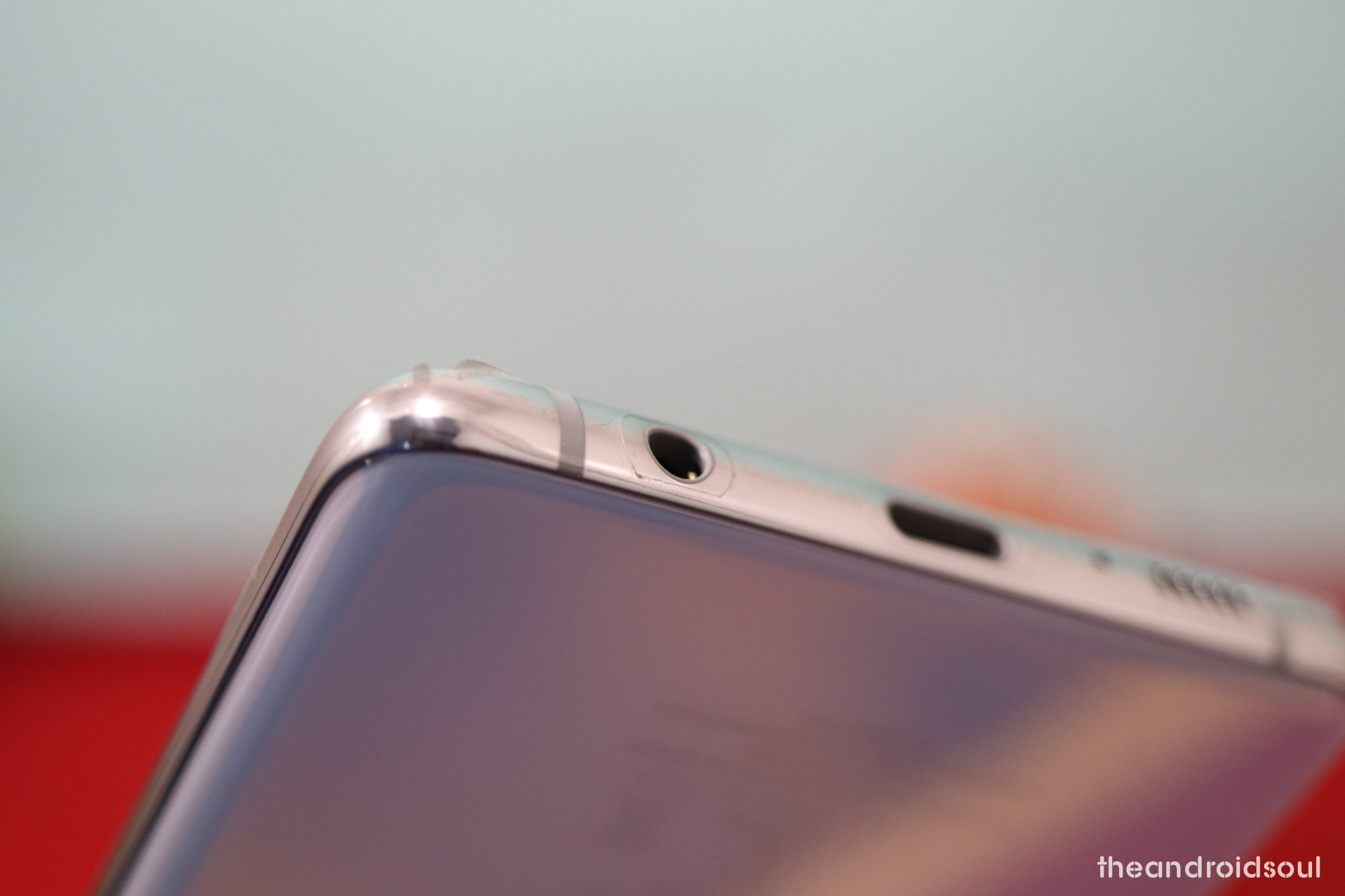 Galaxy S10 headphone jack