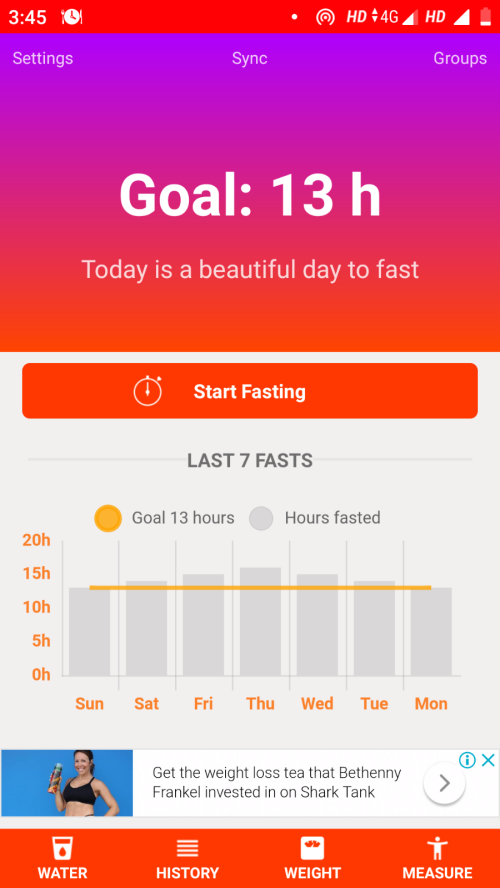 Intermittent fasting apps 25