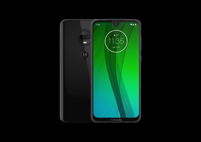 Motorola Moto G7 handset