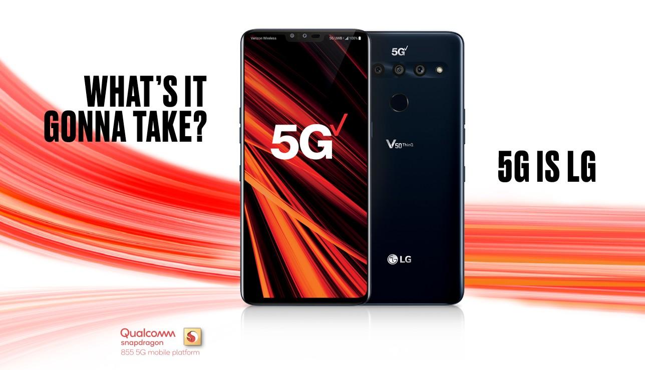 Verizon LG V50