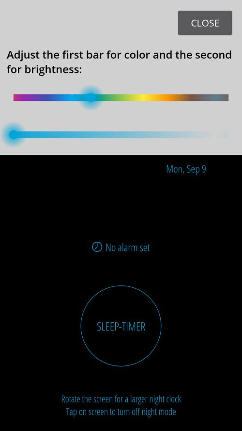 Best night clock apps 17