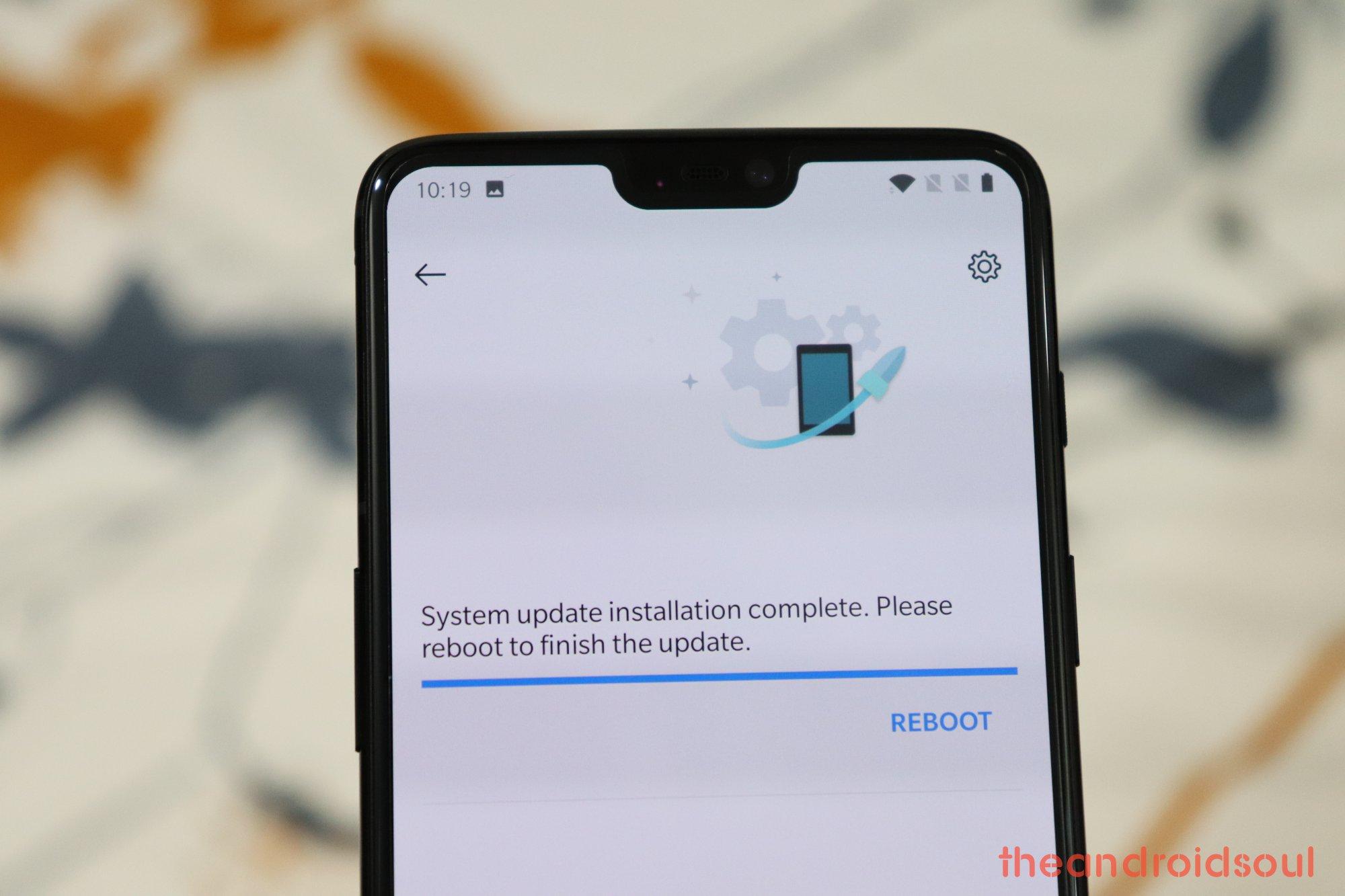 Imagini pentru oneplus 6t android 10