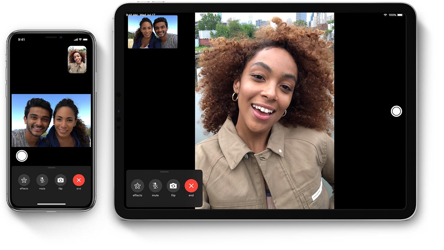 Live facetime chat