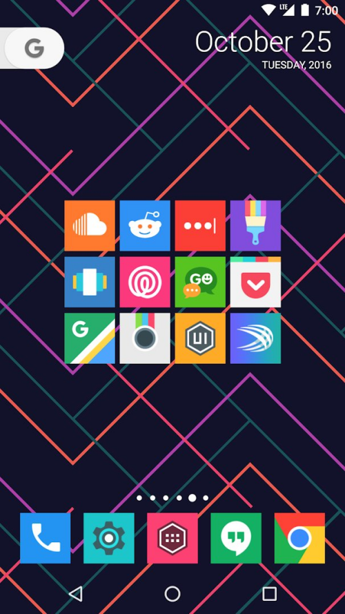 Square icon pack 17