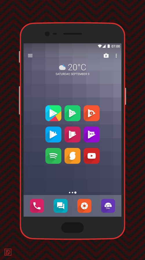 Square icon pack 19