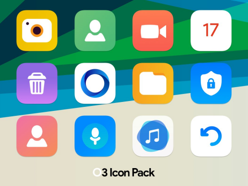 Square icon pack 32