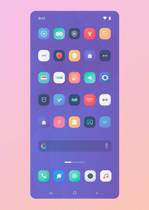 Square icon pack 37