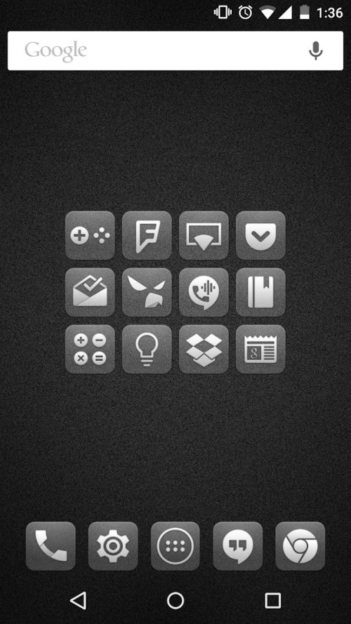 Square icon pack 44