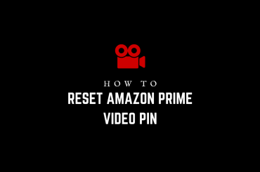 How to reset Amazon Prime Video PIN