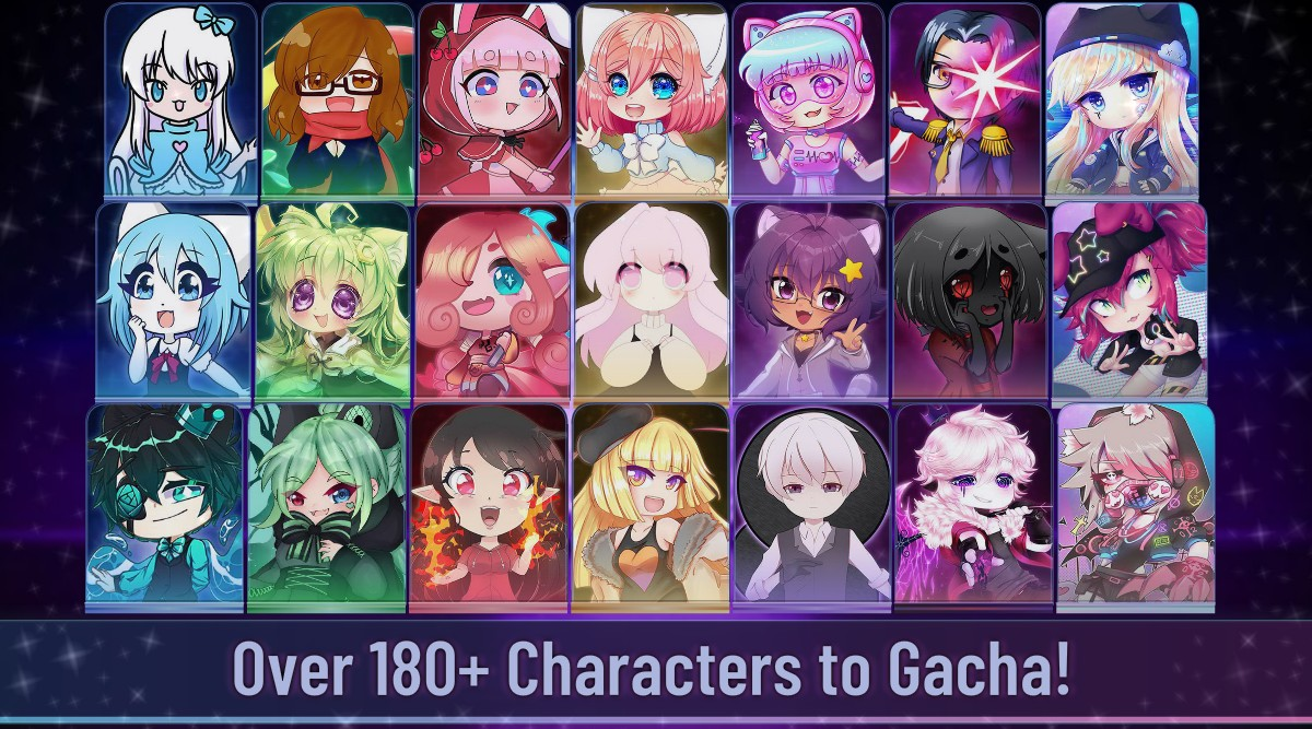 Gacha Club characters