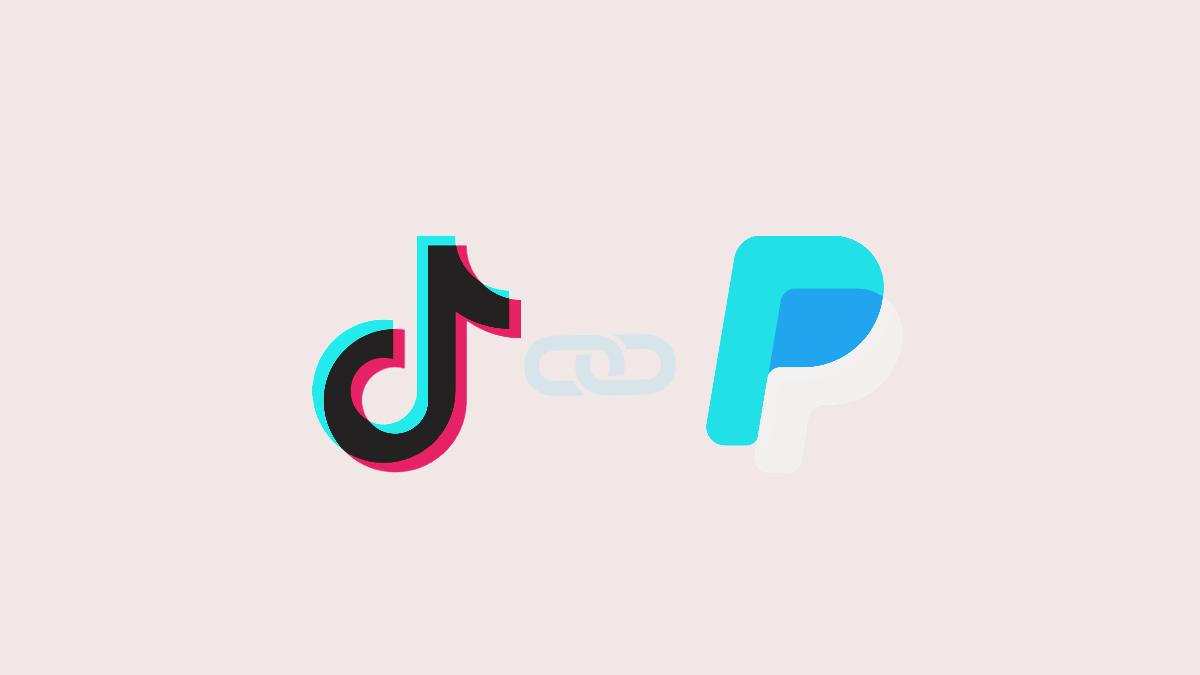 link paypal to TikTok account