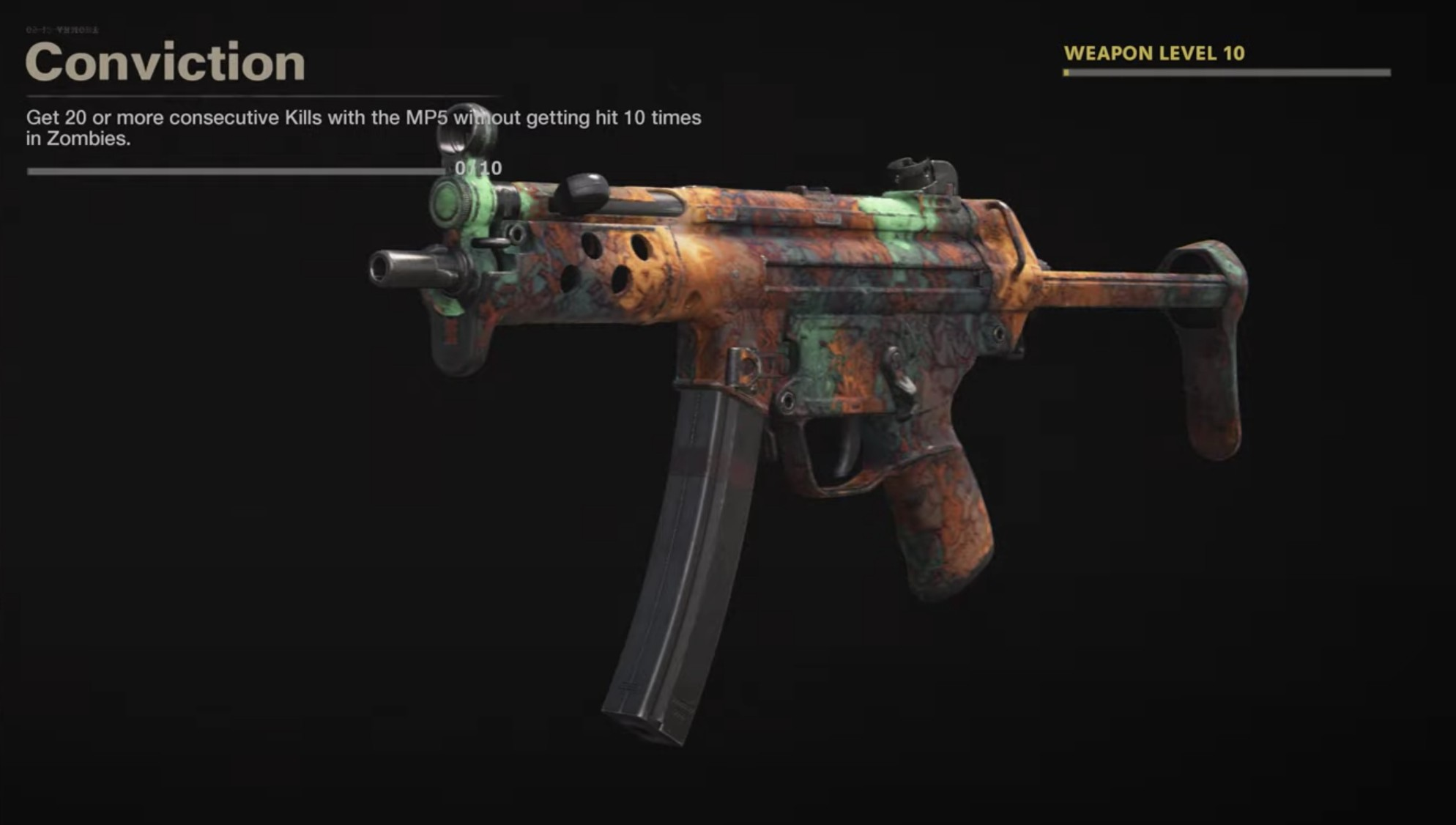 Black Ops Cold War Zombies Camo Challenges - Conviction