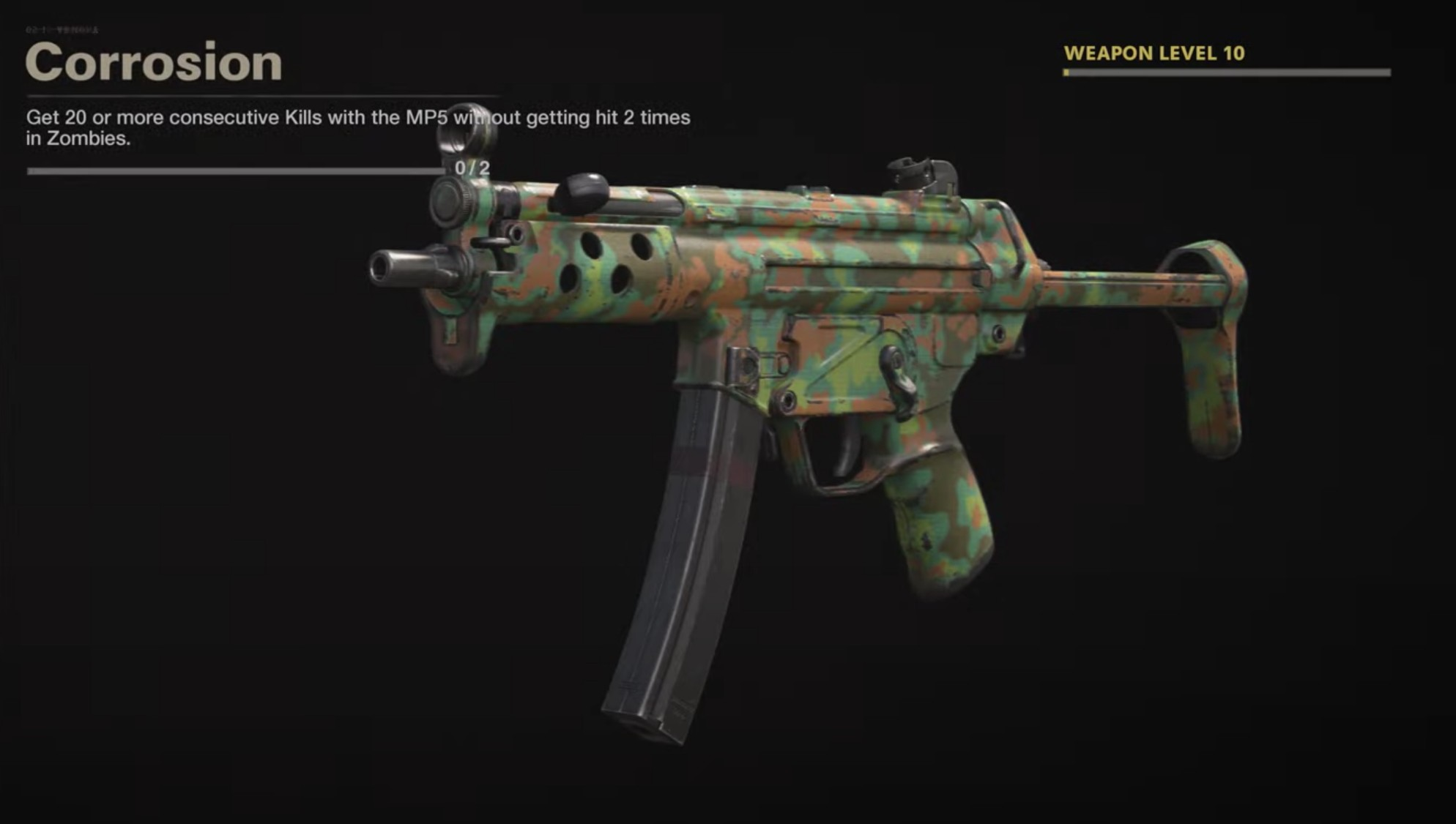 Black Ops Cold War Zombies Camo Challenges - Corrosion