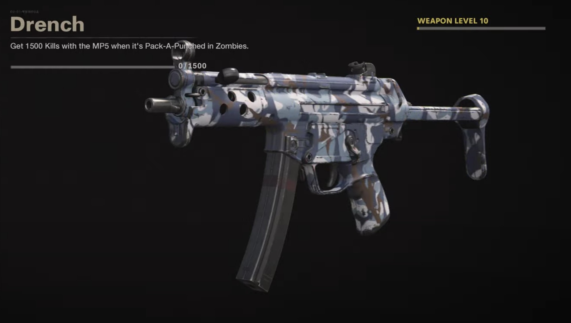 Black Ops Cold War Zombies Camo Challenges - Drench