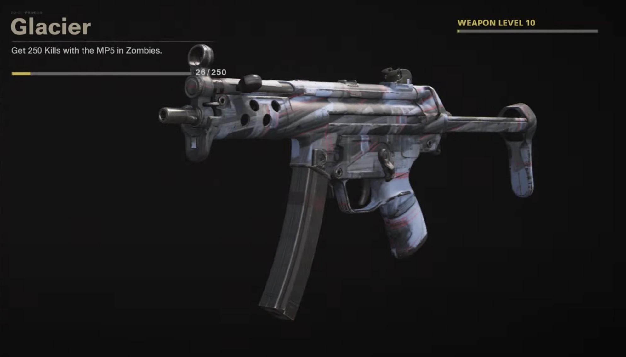 Black Ops Cold War Zombies Camo Challenges - Glacier