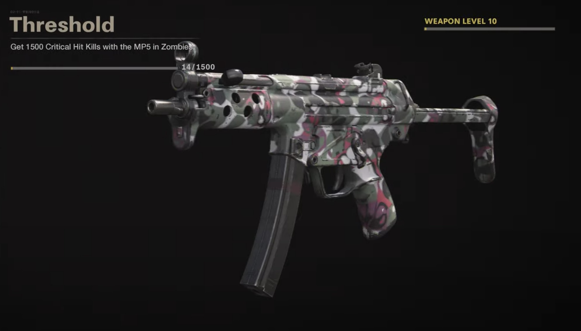 Black Ops Cold War Zombies Camo Challenges - Threshold