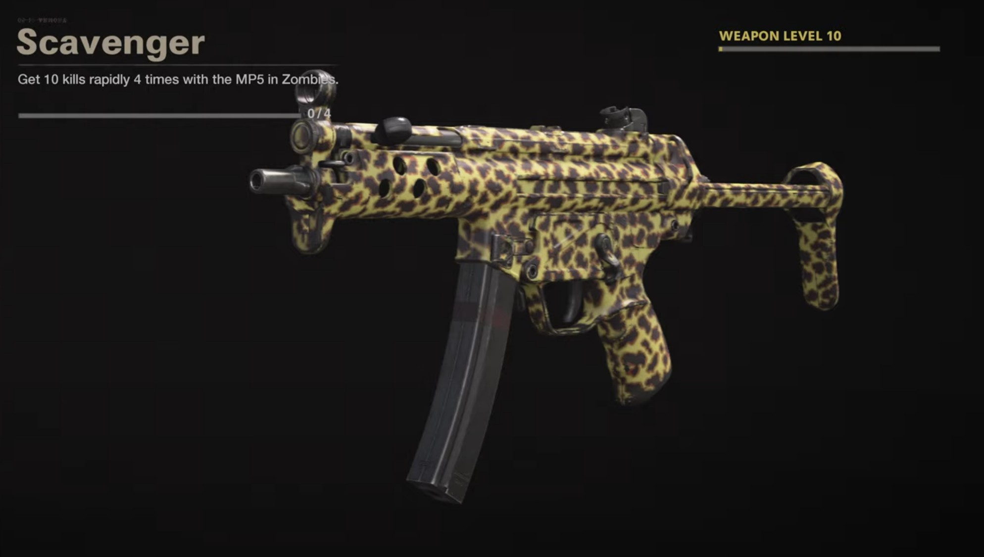 Black Ops Cold War Zombies Camo Challenges - Scavenger