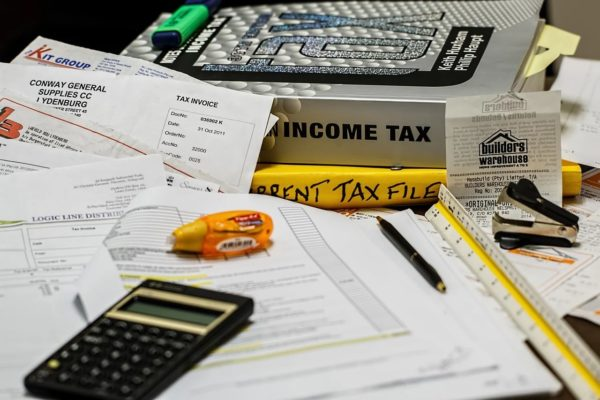 How to Change Address with IRS - Cluttered Desk