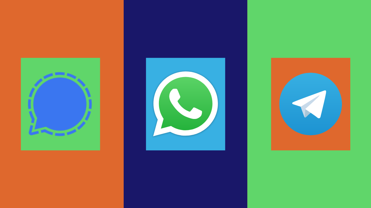 Signal vs WhatsApp vs Telegram: Privacy, Permissions, Data Collection, and More